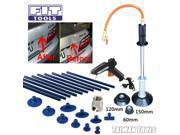 FIT TOOLS Air Hose Dent Puller w/3 PCS Pad +10 PCS Glue Tabs + Glue Sticks for Metal