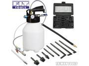 6L Pneumatic Air ATF Auto Transmission Fluid Extractor Dispenser Refill Pump w/ Rubber Nozzle Kit