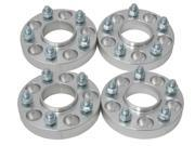 """(4) 25mm (1"""") 5x4.75 to 5x4.75 Hubcentric Wheel Spacers for Chevrolet Corvette Camaro Pontiac GTO"""