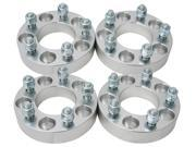 "(4) 1.25"" (32mm) 5x120.65 (5x4.75) to 5x139.7 (5x5.5) Wheel Adapters/Spacers with 12x1.5 studs/nuts"