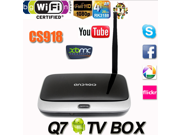 Android 4.4 RK3188T TV Box Q7 CS918 - Quad Core Media Player - Full HD 1080P - 1GB/8GB - XBMC - Wifi Antenna with Remote Control