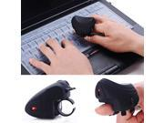2.4GHz 10M USB Handheld Grip Wireless Trackball Rechargeable Optical Mouse New