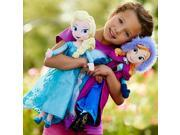ZNUONLINE 240134_2 Frozen Elsa Doll,Princess Royal Sisters Soft Stuffed Plush Toy Barbie for Girls