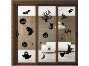 ZNUONLINE Wall Decor Ghost,Pumpkin,Witch Halloween Wall Sticker