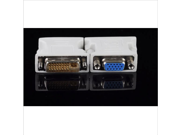 DVI-I Male Dual-Link 24+5 to VGA Female 15-Pin Video Monitor Adapter Converter