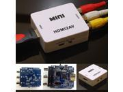 MINI HDMI2AV HDMI toAV Converter CVBS FL FR 480i 576i fr TV VHS VCR DVD NTSC/PA