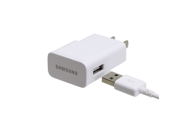 Samsung Micro USB Sync Data Cable with 2.0 Amp Travel Wall/Home Charger Adapter For Samsung Galaxy S2, S3, S2 4G, Note1, Note2 Smartphones