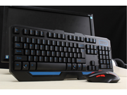HK5100 High-quality Wireless Keyboard and Mouse Combo Set Black Gaming keyboard