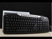 Jeway JK-8606 USB Wired Gaming Laptop Keyboard Black