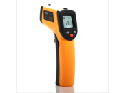 "Benetech Gm320 1.2"" LCD Infrared Temperature Tester Thermometer -50? - 330? - Orange + Black"