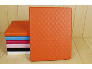 Fashion Luxury Leather Multi-function Protective Leather Folding Flip Smart Case Cover for iPad 2/3/4 Typical ...