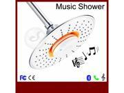 Hot Waterproof Bathroom Shower Head with Music stereo Speaker Sound Wireless Bluetooth