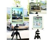 """NEW"""" Apple IPAD 2 3 4 Holder + 1/4-20 Video Camera Tripod Monopod Adapter Mount (Tablet & Tripod is not included with Purchase)"""
