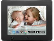 OFFICIAL SELLER nixplay 8 inch WiFi Cloud Digital Photo Frame with motion sensor