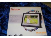 "Dalton PF-A710 7"" Digital Picture Frame Photo new w 16B media card new"
