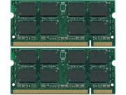 NEW 8GB (2x4GB) DDR2-667 200-Pin SODIMM Laptop Memory PC2-5300 Unbuffered Non-ECC