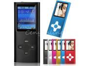 "4th 8GB Slim MP3 MP4 Player With 1.8"" LCD Screen Digital FM Radio Video Games"
