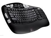 New Logitech Wireless Keyboard K350 with USB Unifying Receiver Black 920-001996