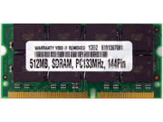 Hot 512MB SDRAM MEMORY RAM PC133 SODIMM 144-PIN 133MHZ Shipping From USA