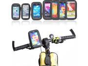 Bike Phone Holder Mount Waterproof Case Touch Screen for iPhone Samsung LG Nexus