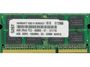 Hot 4GB PC3-8500 1066MHz MEMORY FOR DELL VOSTRO 3300 3400 3500 V13 Shipping From USA