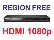 New Samsung DVD-C500 1080p HDMI All Multi Region Code Zone Free DVD Player
