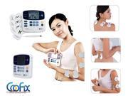 New Dual Tens Machine Digital Electric Massage Massager Acupuncture pen XFT-320 Pads Mothers' Day Gift For Mom