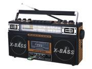 New Qfx Am/fm/sw1-sw2 4 Band Radio And Cassette To Mp3 Converter