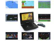 """E-buy World"" New 7.8? LCD Screen Portable EVD DVD Video Player TV Tuner USB SD Games Radio PAL"