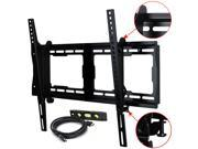 VideoSecu LCD LED UHD HDTV Tilt TV Wall Mount for LG 32 37 39 40 42 47 49 50 55 60 65 inch with Free 10ft HDMI Cable & Bubble Level BG3