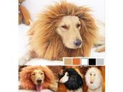 Actual Fine Pet Costume Lion Mane Wig for Dog Cat Halloween Clothes Dress