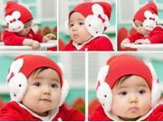 Unique design Kids Baby Winter Ear Flap Hat Beanie Cap Crochet Rabbit
