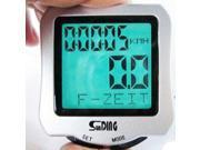Sturdy Firm Waterproof Bicycle Bike Speedometer Odometer LCD Back Lighting