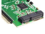 "mSATA Mini sata SSD to 2.5"" inch 44 Pin IDE male Adapter Card adapter 5V"