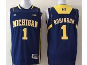 Michigan Wolverines NCAA Jersey NO.1 Robinson Basketball Jersey