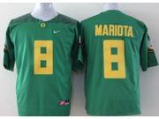Oregon Ducks NCAA Jersey Football Wear NO.8 MARIOTA Youth Sportswear S~XL