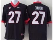 Georgia Bulldogs NCAA Jersey Football Wear NO.27 CHUBB Youth Sportswear S~XL