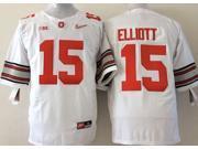 Ohio State Buckeyes NCAA Jersey Football Wear NO.15 ELLIOTT Youth Sportswear S~XL
