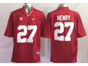 Alabama Crimson Tide NCAA Jersey Football Wear NO.27 HENRY Youth Sportswear S~XL
