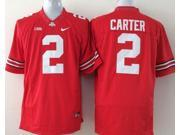 Ohio State Buckeyes NCAA Jersey Football Wear NO.2 CARTER Youth Sportswear S~XL