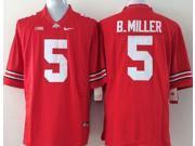 Ohio State Buckeyes NCAA Jersey Football Wear NO.5 B.MILLER Youth Sportswear S~XL