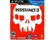 PS3 RESISTANCE 3 PLAYSTATION 3 GAME BRAND NEW SEALED