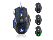 Her Big MAC 7 Key 5500 Dpi Gaming Mouse Wired Mouse Zelotes Foreign Trade Authenticity Mouse