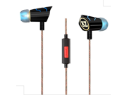 Kz-Ed8 Original High-End Heavy Bass HIFI Earphone Headphones 3.5mm Standard Interface Headset For Fiio For Iphone For Samsung