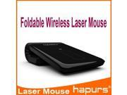 New recon convenient folding lithium rechargeable mouse minimalist environment protection energy laser mouse