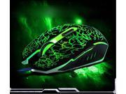 2015 New LED Computer Gaming Mouse Wried 4000 DPI 6D Buttons USB Mouse Mice for PC Laptop