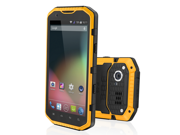 """RugGear Apex PRO - Waterproof, Shock Proof, Highly Rugged Smartphone with 5.3"""" Touchscreen, Dual SIM, Android 4.1 and 8MP Camera"""