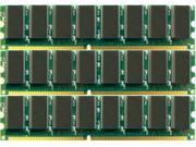 for HP Pavilion A350n 3GB (3X1GB) PC2700 333MHz 184-Pin DIMM DDR Unbuffered Non-ecc Memory NEW