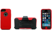 OtterBox Case 77-24986 for Apple iPhone 5/5S (Defender Series) - Red