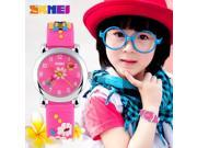 Time US children watch waterproof pointer innocence cute jelly color personalized gifts for men and women student fashion watch